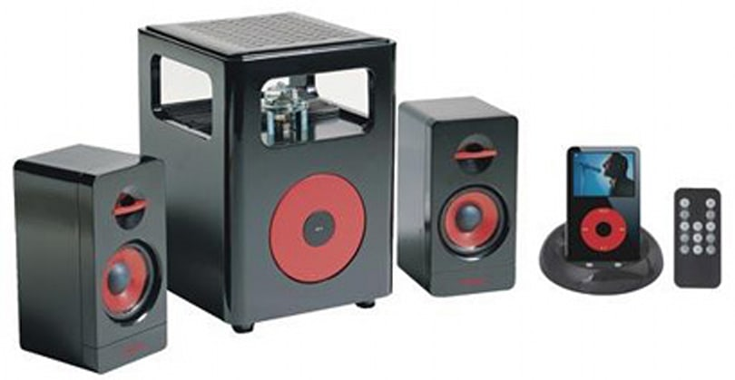 Sonic Gear i-Steroid valve iPod speakers reviewed