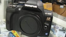 Purported Olympus E-600 apparently spotted in the wild