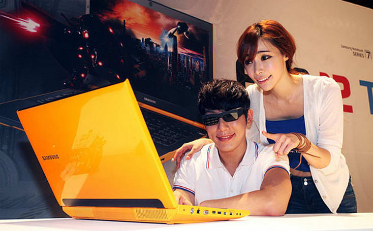 Samsung refreshing Series 7 Gamer with 3D display, AMD Radeon HD 7870M