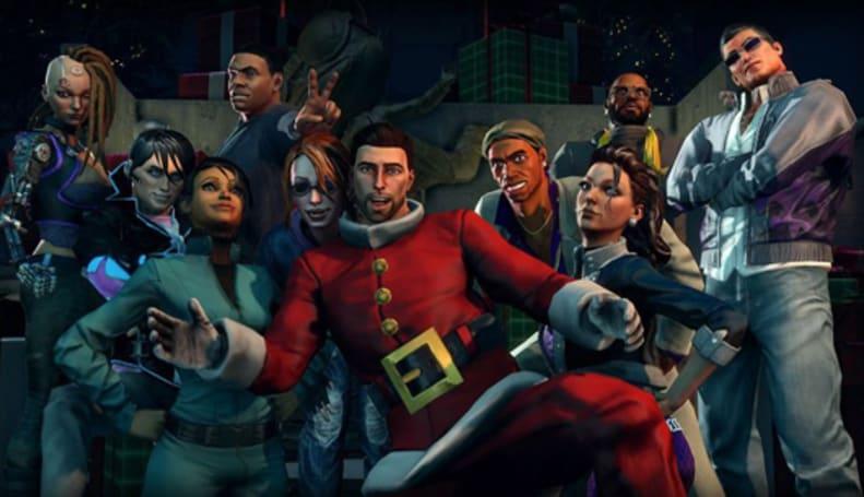PSA: Saints Row 4 'How the Saints Save Christmas' DLC out now