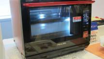 シャープ、ウォーターオーブン「ヘルシオ」プレミアムモデル。一度で焼き蒸し調理可、16万円