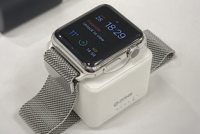 Apple Watch専用バッテリーZENS Power Bankレビュー:安心の全回復アイテム。単機能ストレスフリーにいくら出す?