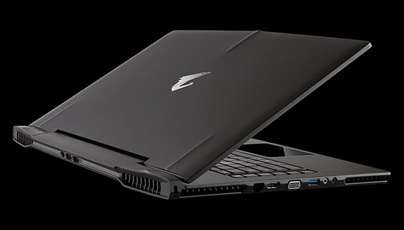 Gigabyte's dual GPU Aorus gaming laptop is less than an inch thick
