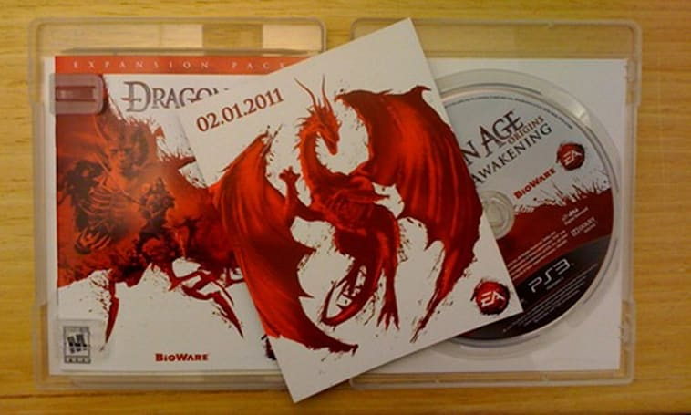 Mystery Dragon Age project dated Feb. 1, 2011