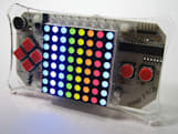 Meggy Jr RGB handheld: only as fun as your programming skills allow
