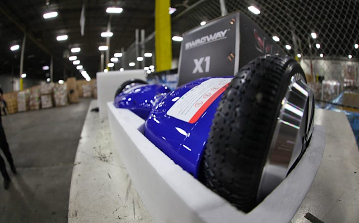 US customs seizes 16,000 counterfeit 'hoverboards'