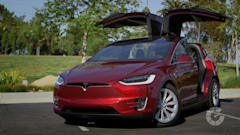 Autoblog reviews Tesla's Model X all-electric SUV