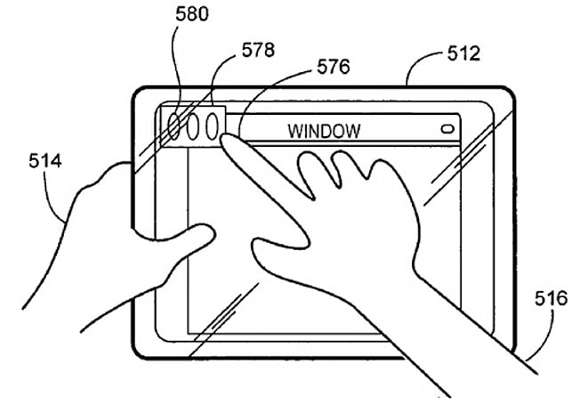 Apple granted patent for a proximity-sensing touchscreen