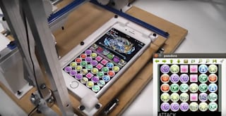 iPhone puzzle games are no match for this robot