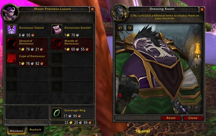 Cataclysm rewards low-level faction loyalty with cloaks, bags
