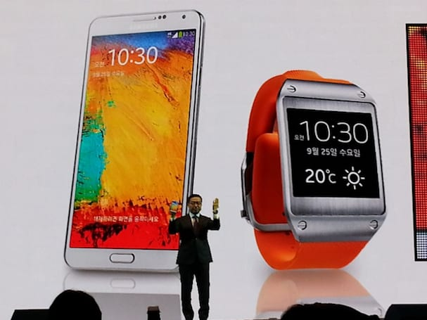 Samsung's Galaxy Note 3 and Galaxy Gear now on sale in the UK