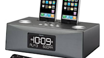 iHome's iP88 dual iPhone / iPod alarm clock gets all rectangular on us
