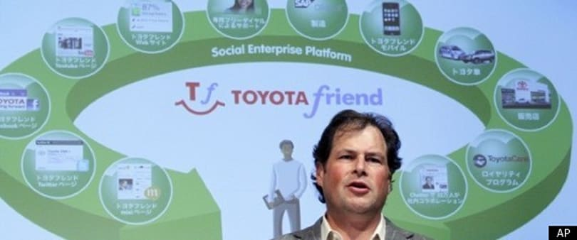 Toyota to launch social network for people who like to befriend car dealerships