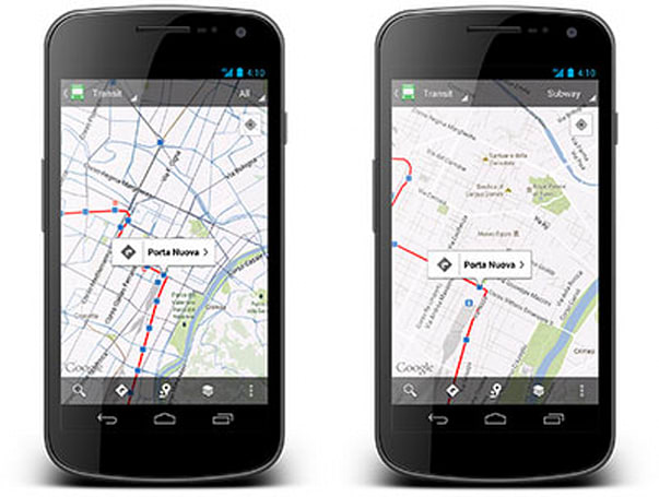 Google Maps notches one million public transit stops worldwide, celebrates with an update