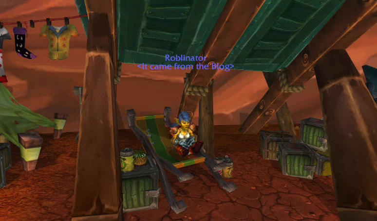 Blog Azeroth Shared Topic: What would your character do as a WoW NPC?