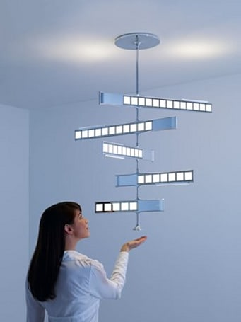 Philips shows off Lumiblade OLED lighting concepts