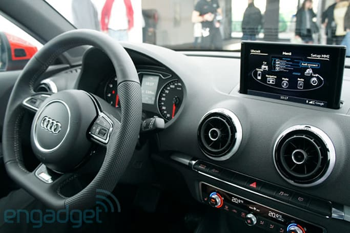 Audi A3 with MMI Touch gesture-based entertainment system hands-on (video)
