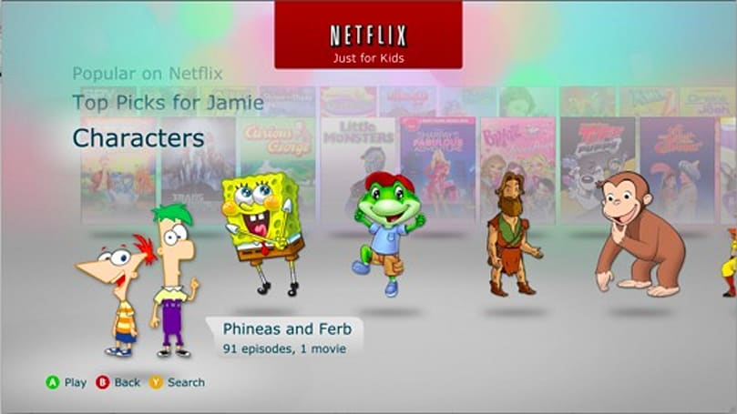 Netflix 360 update is 'Just for Kids'