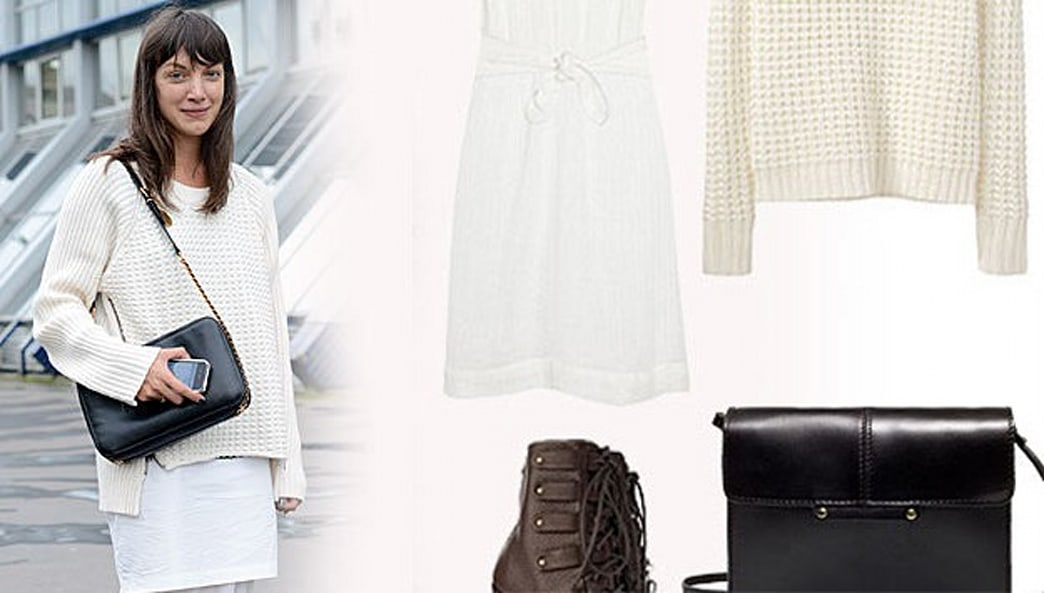 Here's the Real-LIfe Proof - Winter White Looks Insanely Chic