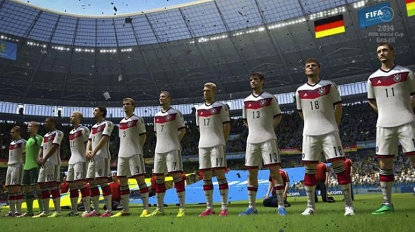 EA spoils World Cup, tells us Germany's going to win it