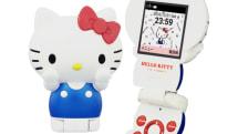 キティちゃん型携帯電話『ハローキティフォン』ついに発売。IP電話の無料通話分を増量する発売記念キャンペーンも