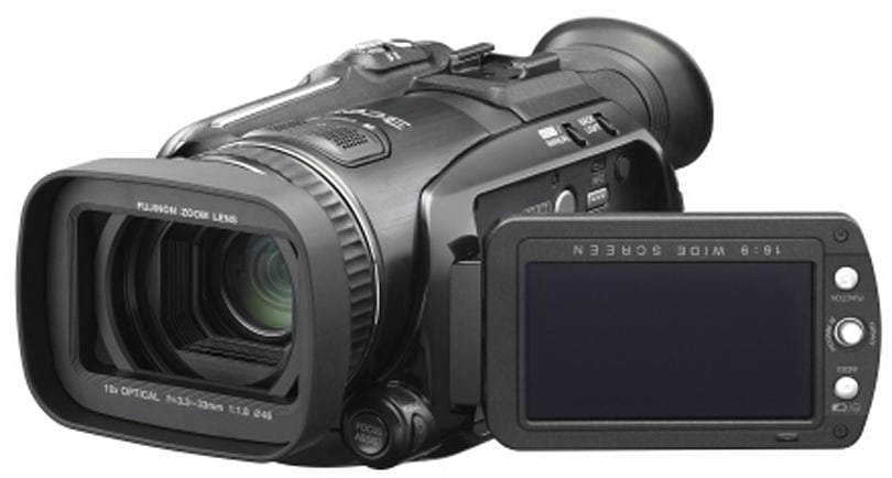 JVC HD GZ-HD7 1080i camcorder to hit in April
