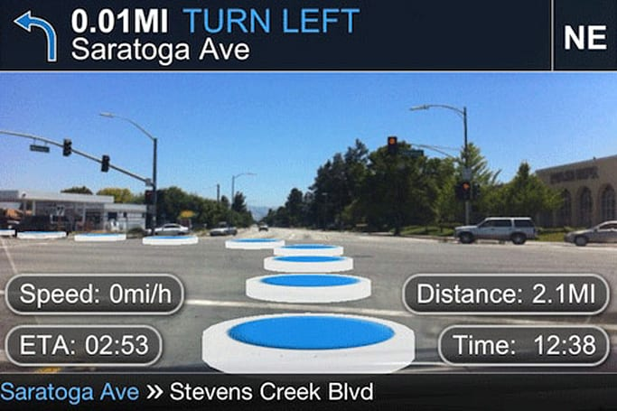 Lustancia's TapNav app takes your iPhone for an AR-assisted spin