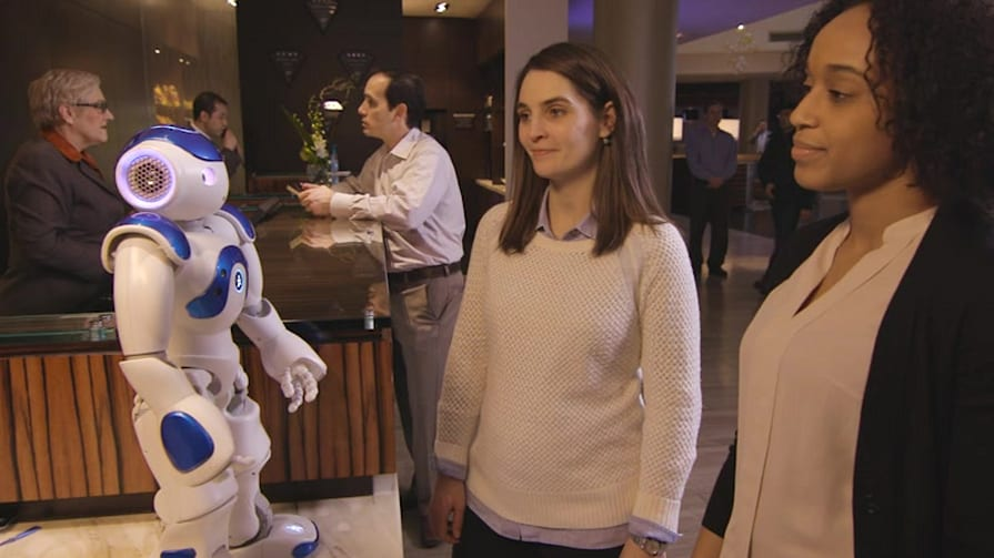 Hilton's Robotic Concierge Powered by IBM Watson