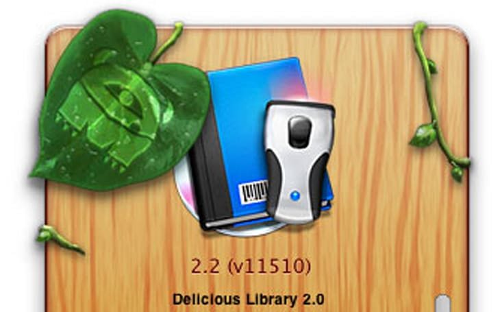 Mandatory Delicious Library 2.2 update released