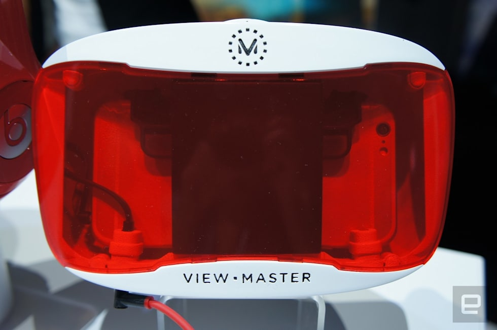 View-Master VR keeps one foot planted in the real world