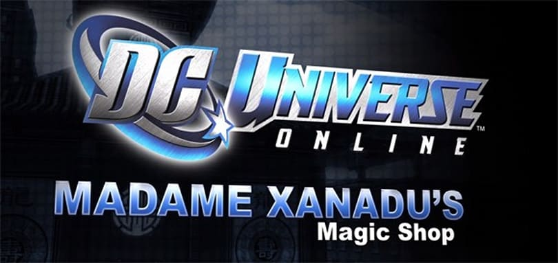 DCUO performs magic in Madame Xanadu's shop
