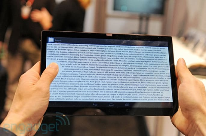 Synaptics Sensa grip-sensing tablet concept hands-on