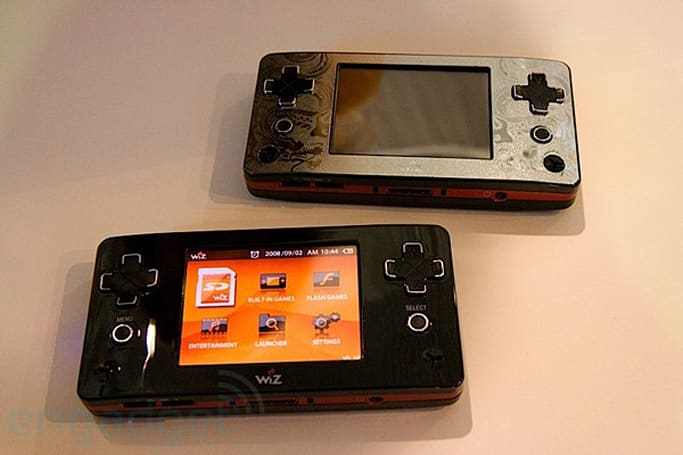 GamePark GP2X Wiz gaming handheld now available, for real