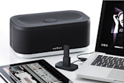 Veho Mimi X-3 wireless speaker streams from bundled USB and 30-pin transmitters for $500