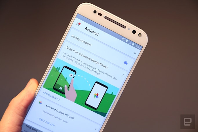 Google revamps search in its Photos app for Android