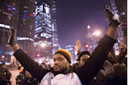 Facebook and Twitter say 2014 was about protests and the World Cup