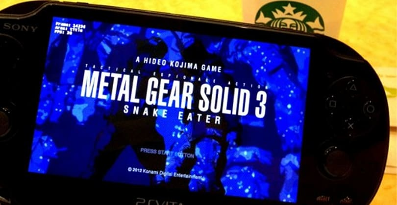Metal Gear Solid HD Collection has Vita-exclusive touch knifing