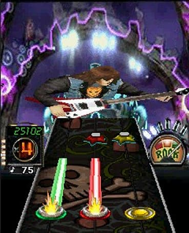 Guitar Hero 3 rocks the BlackBerry, viciously