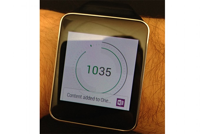 Microsoft OneNote comes to Android Wear, gets updated for iOS 8