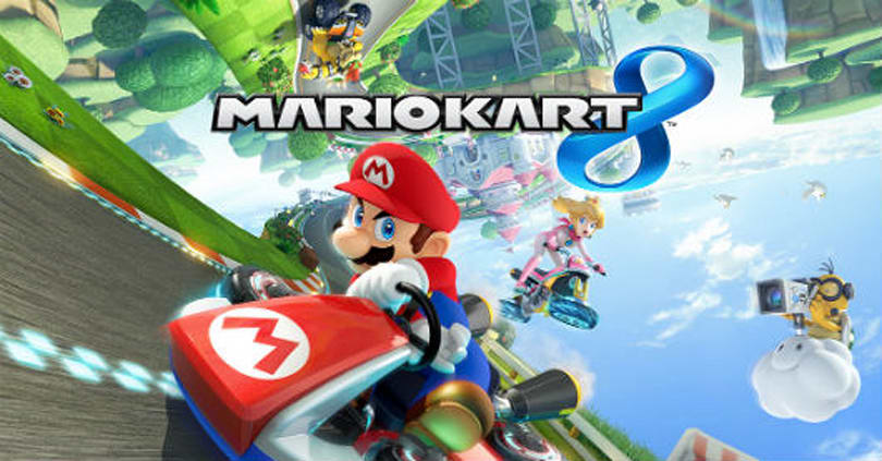 Japanese Mario Kart 8 ad showcases the Luigi Death Stare