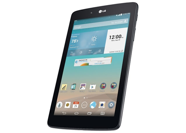 AT&T will sell the G Pad 7.0 for 99 cents -- with a couple catches