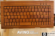 Marubeni Infotec knocks on wooden input peripherals