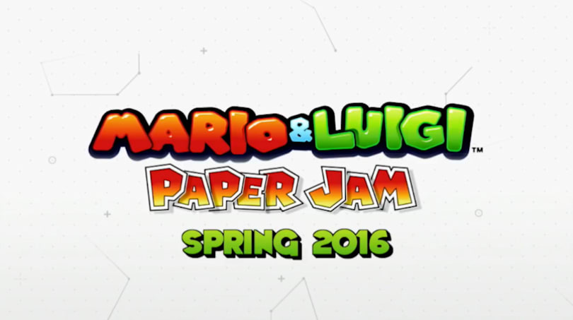 'Mario and Luigi: Paper Jam' drops on 3DS next spring