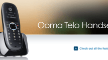 Ooma Telo Handset now available, attempts to lure your booze money