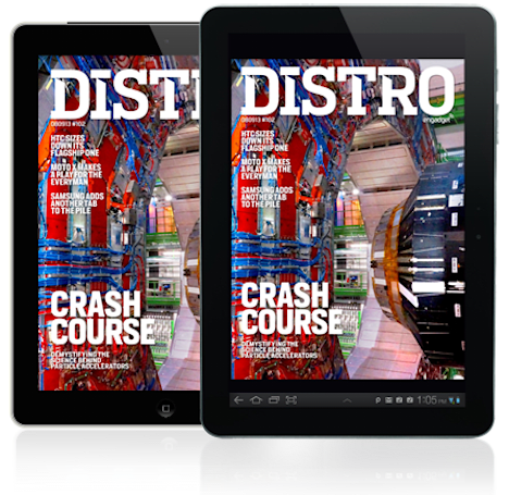 Distro Issue 102: Demystifying the science behind particle accelerators