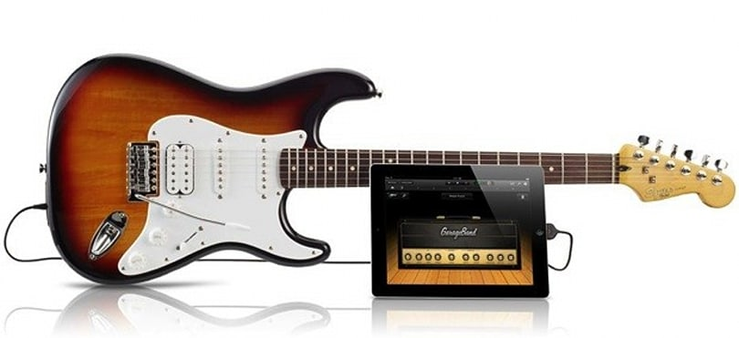 Fender unveils Squier USB Stratocaster that talks to iOS, lends cred to iPad jam sessions (video)