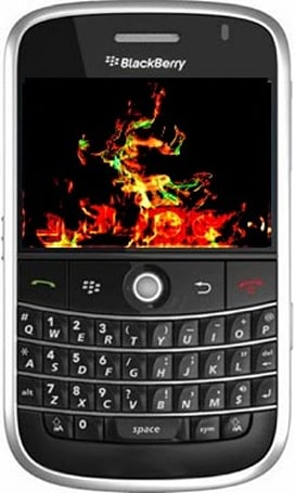 NTT DoCoMo's overheating BlackBerry Bold not caused by battery, says RIM