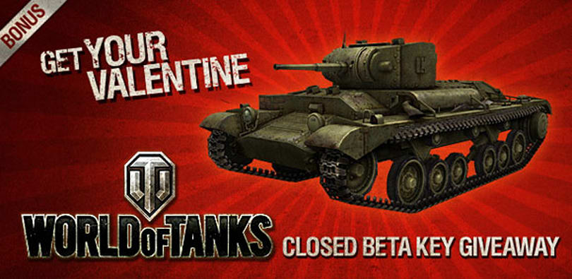 Get a World of Tanks beta key and an exclusive tank, all in one giveaway! [Updated]