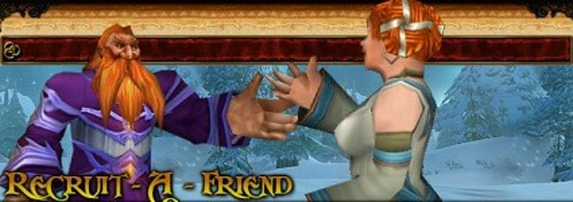 Recommending MMOs to friends