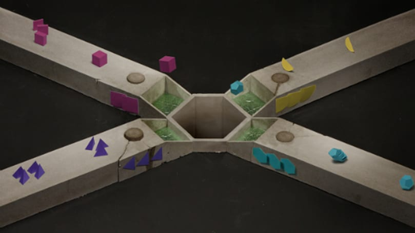 inSynch is a simplistic rhythm game built in stop motion
